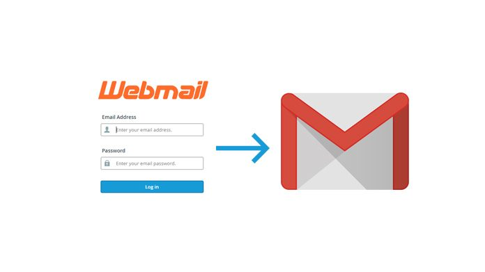 webmail configuration in gmail